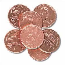 pennies sfasdfas