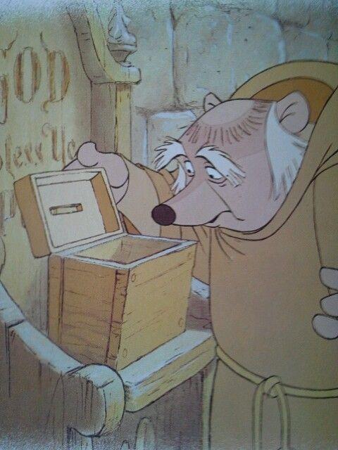friar tuck poor box--robin-hoods-robins